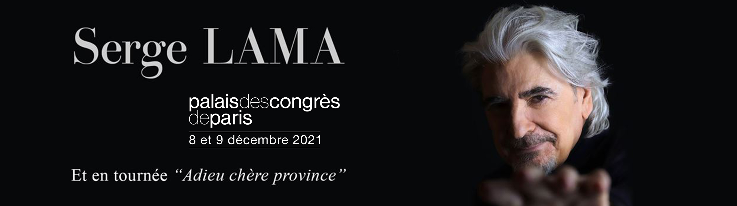 Serge Lama Concert